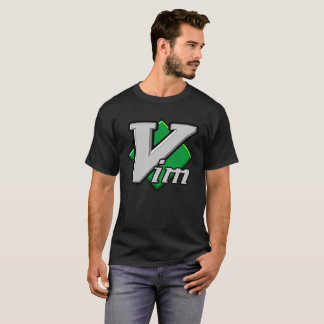 Official Vim Logo Vi IMproved Text Editor T-Shirt