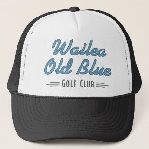 Official Wailea Old Blue Golf Club Merchandise Trucker Hat fd1ab0f41bcc