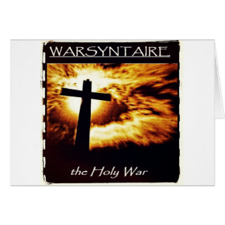 Official WARSYNTAIRE Branded Merchandise Greeting Card