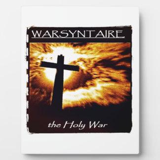 Official WARSYNTAIRE Branded Merchandise Plaque