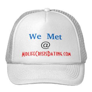 """Official """"We Met @ """" Hat by MCD"""
