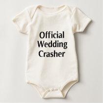 Official Wedding Crasher 1 Baby Bodysuit