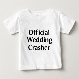 Official Wedding Crasher 1 Baby T-Shirt