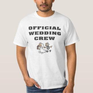 Official Wedding Crew T Shirt