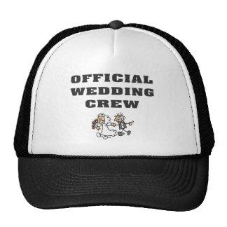 Official Wedding Crew Trucker Hat
