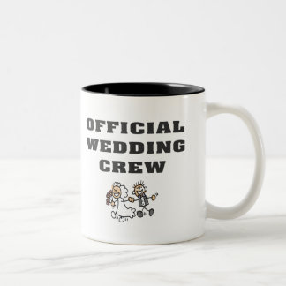 Official Wedding Crew Two-Tone Coffee Mug