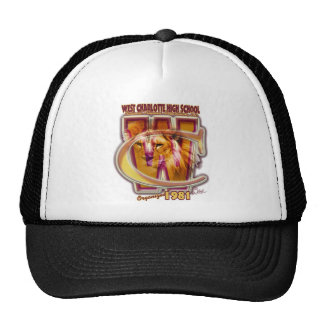 OFFICIAL West Char Nat Alumni Association, LOGO Trucker Hat