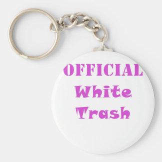 Official White Trash Key Chain