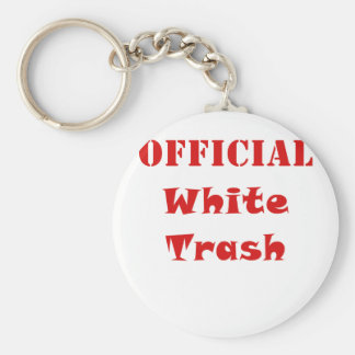 Official White Trash Keychains