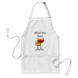 Official Wine Taster Adult Apron