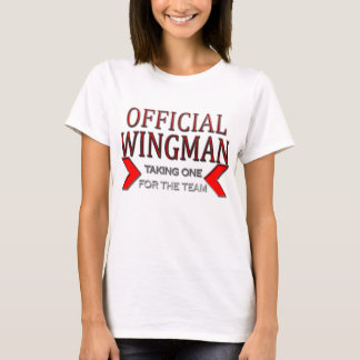 Official WingMan Taking One For The Team Red T-Shirt