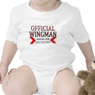 Official WingMan Taking One For The Team Red Tee Shirts