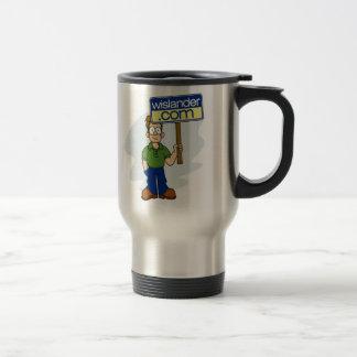 Official Wislander.com Sign Boy Mug