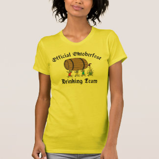 Official Women's Oktoberfest Drinking T-Shirt