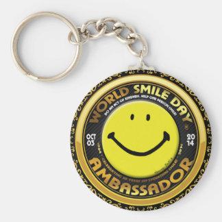 Official World Smile Day® 2014 Ambassador Keychain