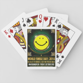 Official World Smile Day® 2014 Playing Cards Deck Of Cards