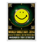 Official World Smile Day® 2014 Poster Posters