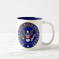Two-Tone Mug with Official Niece Seal design