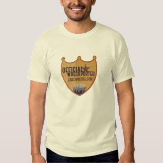 Official Wreckporter Badge - Men's Shirt
