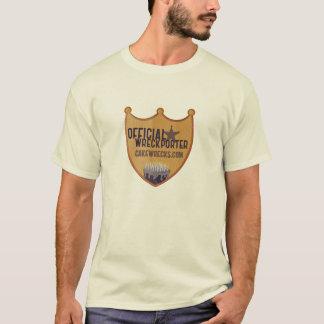 Official Wreckporter Badge - Men's T-Shirt