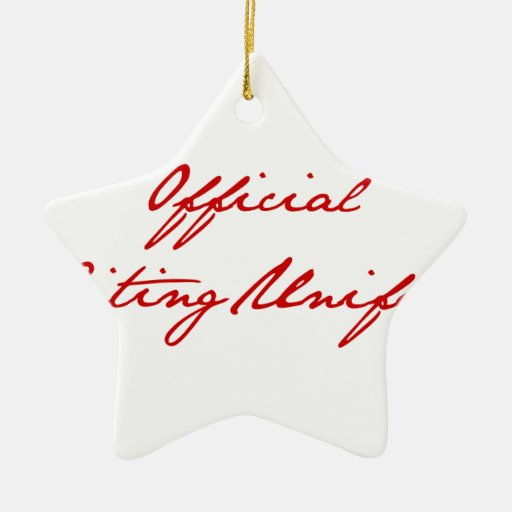 official-writing-uniform-jan-burg.png adorno de cerámica en forma de estrella