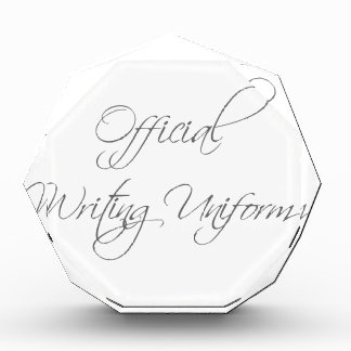 official-writing-uniform-scr-gray png award