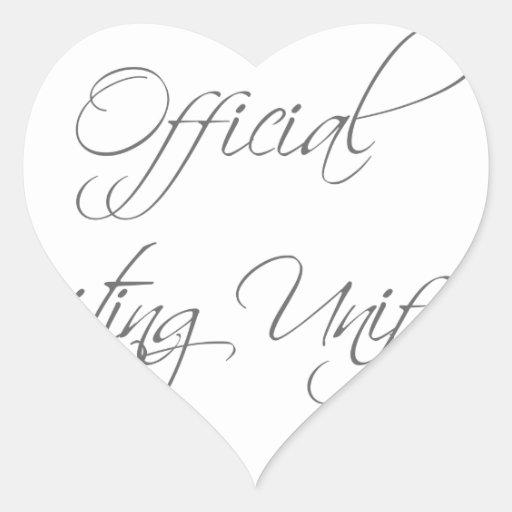 official-writing-uniform-scr-gray.png pegatina en forma de corazón