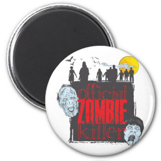 Official Zombie Killer 2 Inch Round Magnet