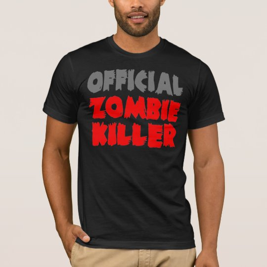 Official Zombie Killer T-Shirt