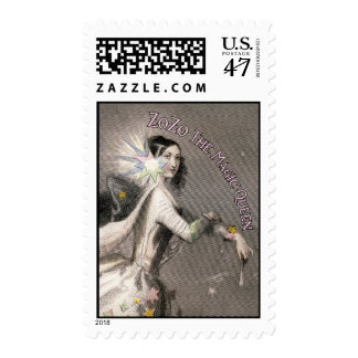 Official ZoZo The Magic Queen Postage Stamp