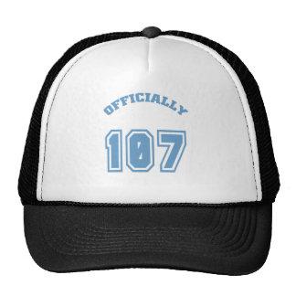 Officially 107 trucker hat