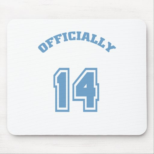 Officially 14 mouse pad