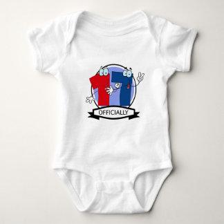 Officially 17 Birthday Banner Baby Bodysuit
