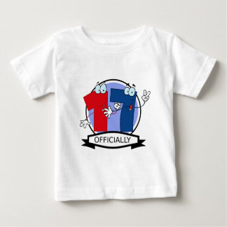 Officially 17 Birthday Banner Baby T-Shirt