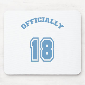 Officially 18 mouse pad