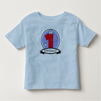 Officially 1 Birthday Banner T-shirt