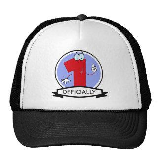Officially 1 Birthday Banner Trucker Hat