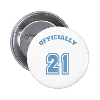 Officially 21 2 inch round button