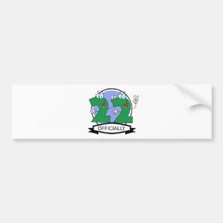 Officially 22 Birthday Banner Bumper Sticker