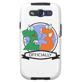 Officially 23 Birthday Banner Samsung Galaxy SIII Covers