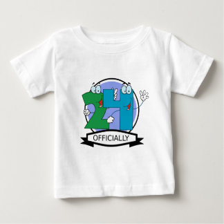 Officially 24 Birthday Banner Baby T-Shirt
