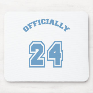 Officially 24 mouse pad