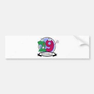 Officially 29 Birthday Banner Bumper Sticker