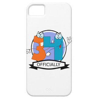 Officially 34 Birthday Banner iPhone 5 Cover