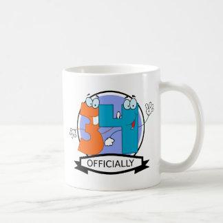 Officially 34 Birthday Banner Coffee Mug