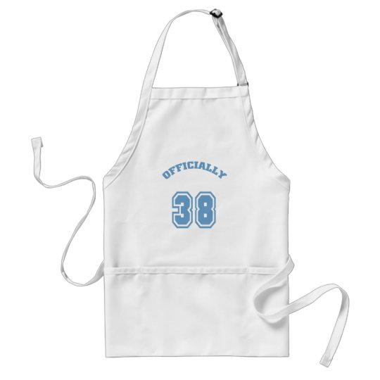 Officially 38 adult apron