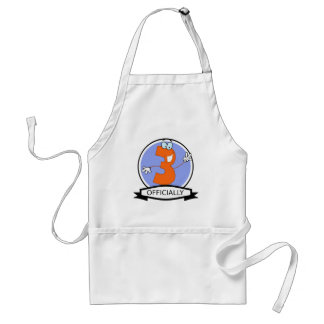 Officially 3 Birthday Banner Adult Apron