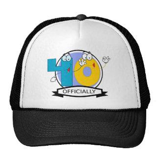 Officially 40 Birthday Banner Trucker Hat