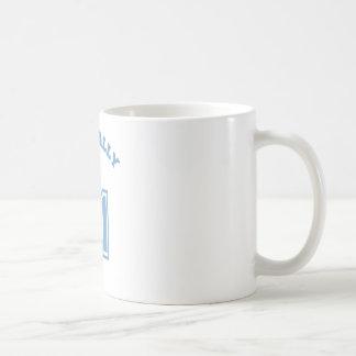 Officially 41 classic white coffee mug