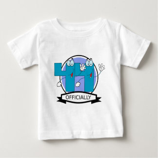Officially 44 Birthday Banner Baby T-Shirt